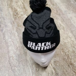 MARVEL BLACK PANTHER YOUTH WINTER HAT